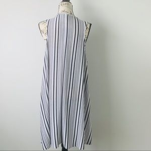 Cato Sweaters - CATO Sleeveless Striped Cardigan Size 22/24W